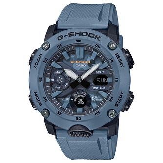 Casio G-Shock Men's Blue Resin Strap Watch - Product number 4938313