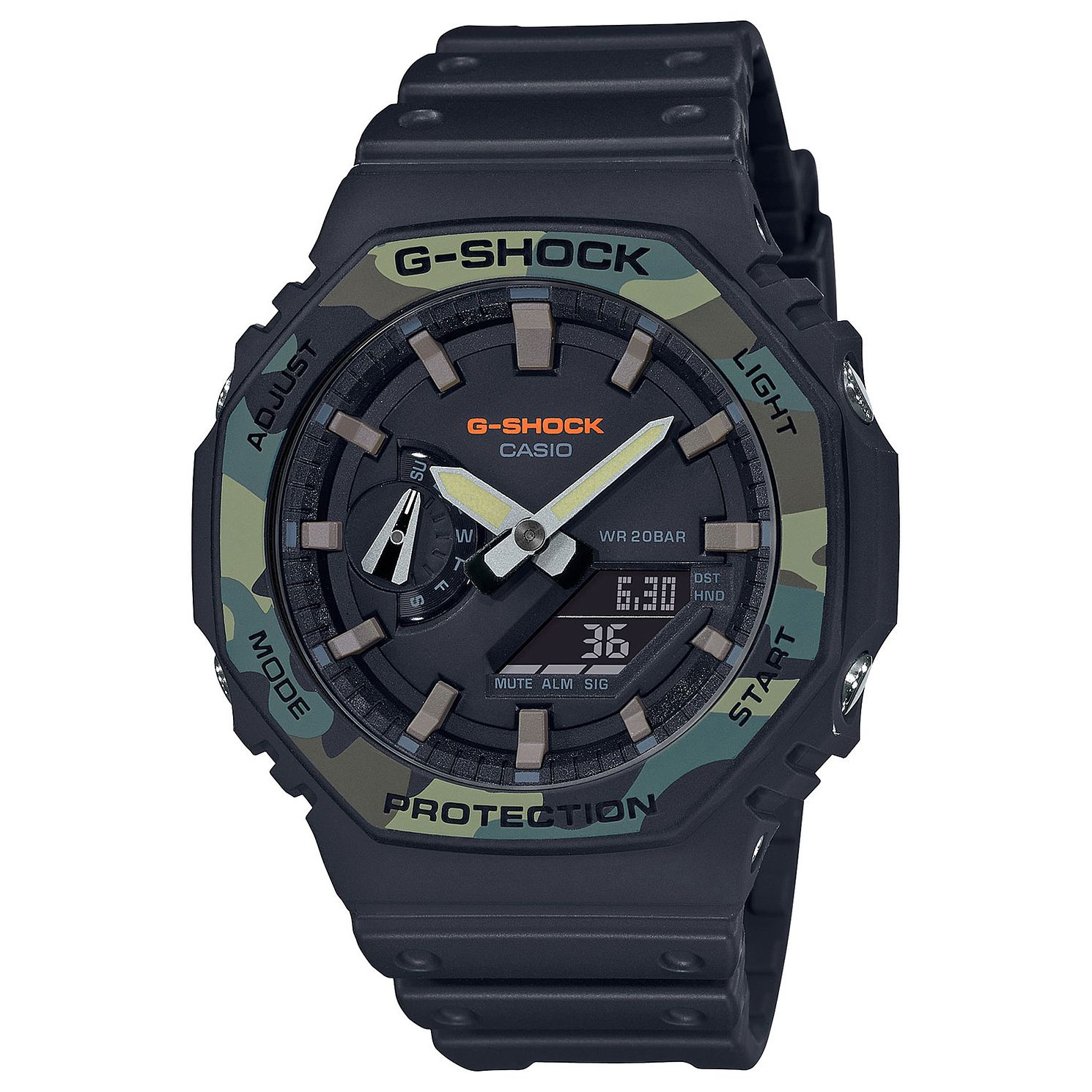 Casio G-Shock Men's Camo Black Resin Strap - Product number 4938321