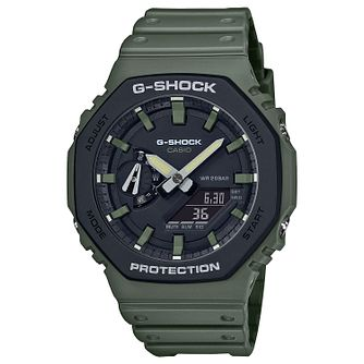 Casio G-Shock Men's Khaki Resin Strap Watch - Product number 4938348