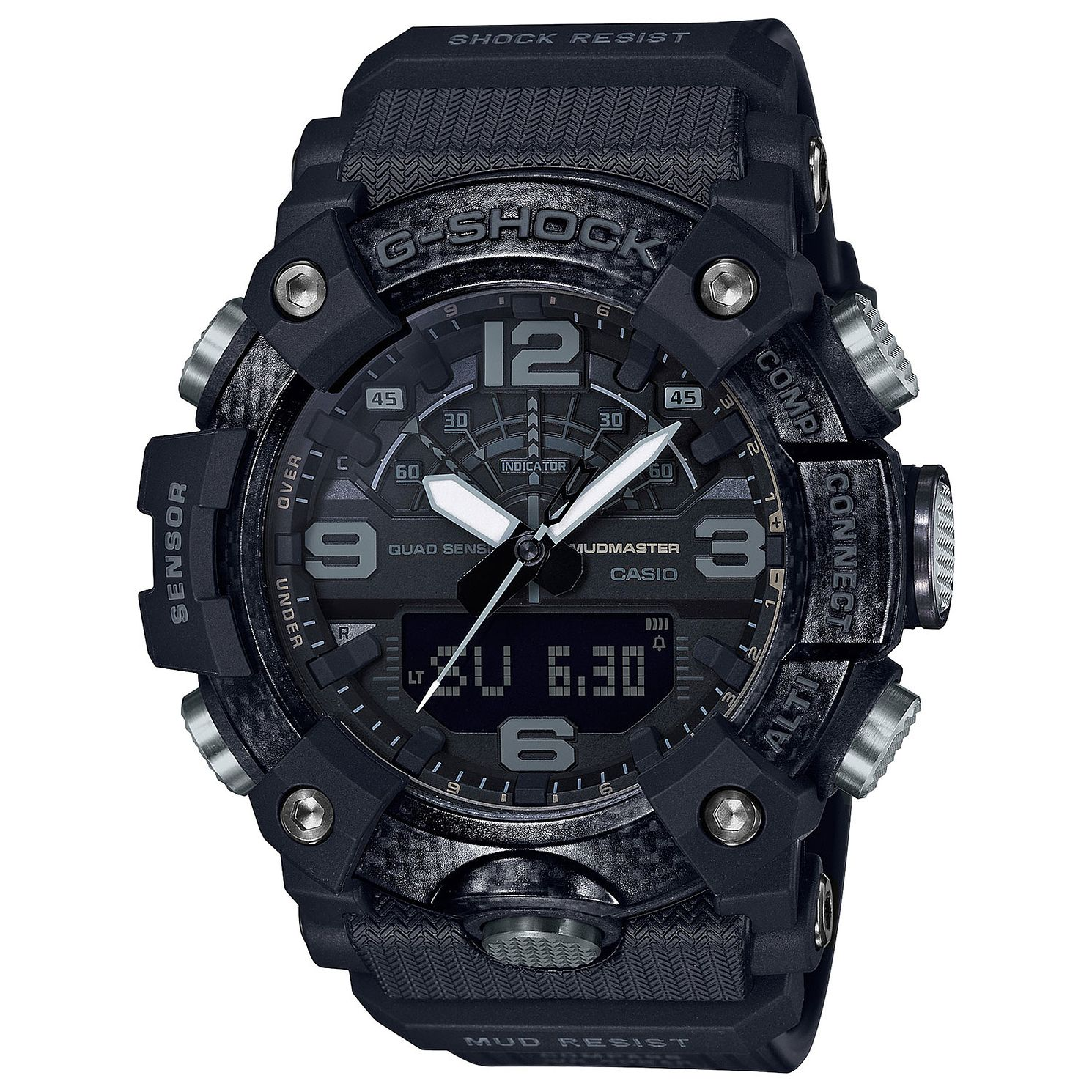 Casio G-Shock Men's Mudmaster Black Resin Strap Watch - Product number 4938356