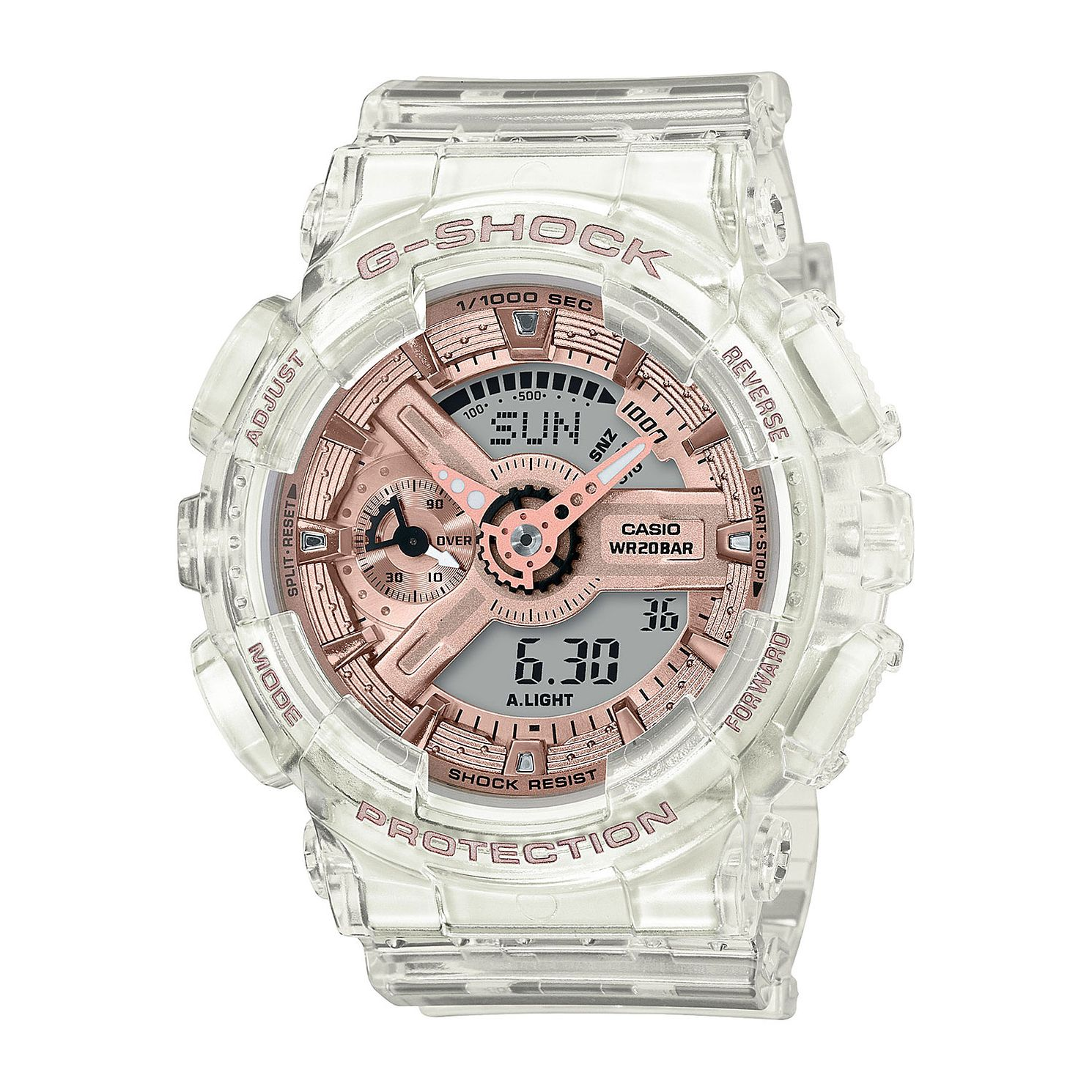 Casio G-Shock Super Clear Resin Strap Watch - Product number 4938372