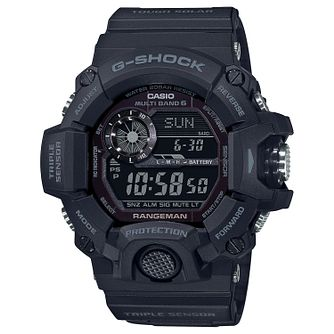 Casio G-Shock Rangeman Men's Black Resin Strap Watch - Product number 4938399