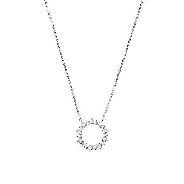 Michael Kors Ladies' Silver Ring Pendant - Product number 4939433
