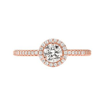 Michael Kors Rose Gold Tone Halo Stacking Ring - Product number 4939700