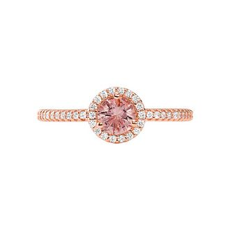 Michael Kors Rose Gold Tone Morganite Ring - Product number 4939727