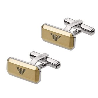 Emporio Armani Men's Two Tone Cufflinks - Product number 4941063