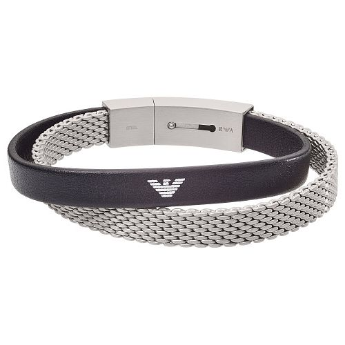 Emporio Armani Men's Stainless Steel Mesh Bracelet - Product number 4941217