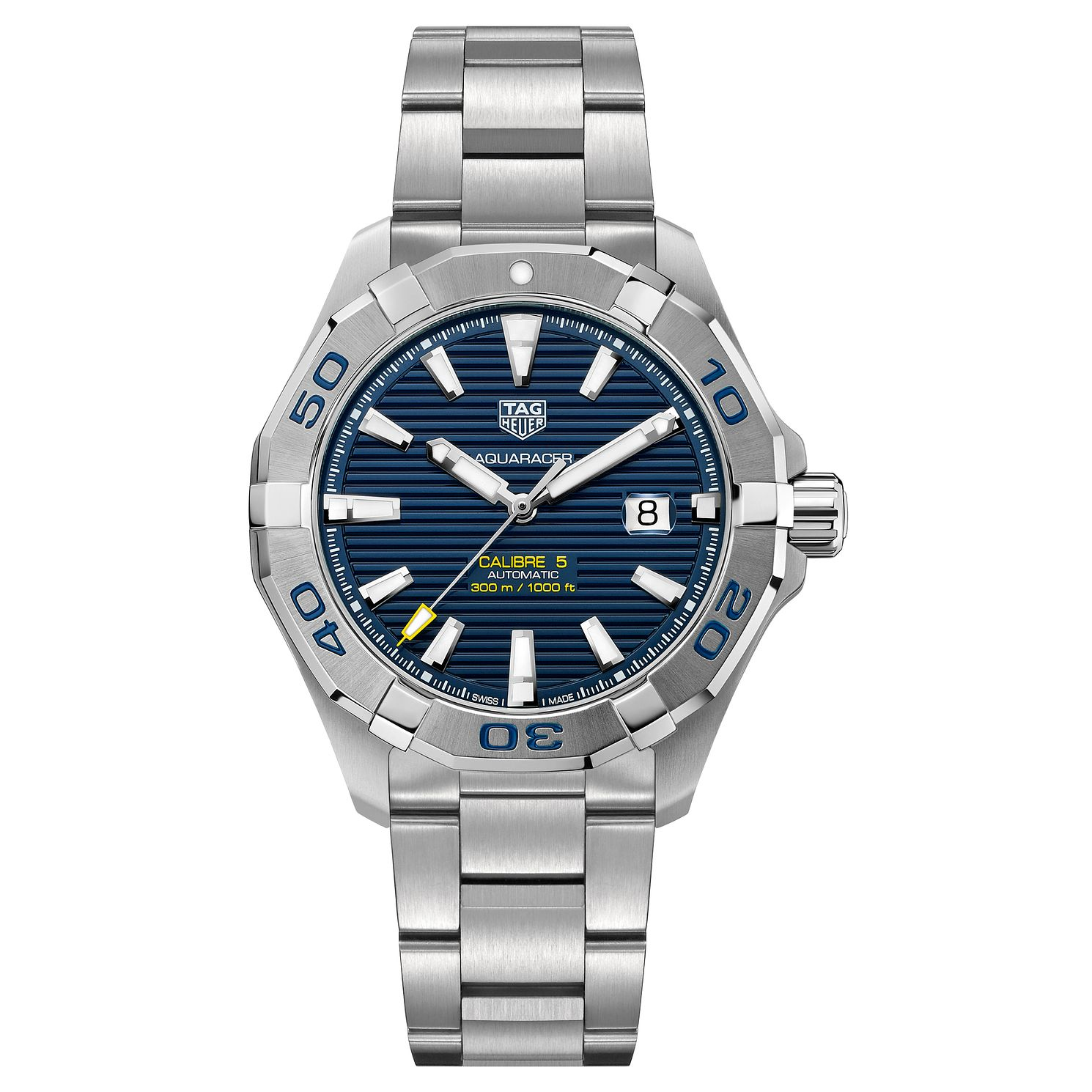 TAG Heuer Aquaracer Men's Stainless Steel Bracelet Watch - Product number 4943163