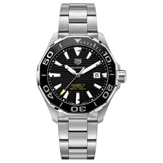 TAG Heuer Aquaracer Men's Stainless Steel Bracelet Watch - Product number 4943171