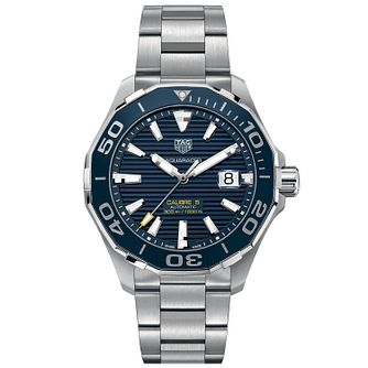 TAG Heuer Aquaracer Men's Stainless Steel Bracelet Watch - Product number 4943244