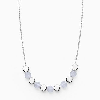 Skagen Ellen Ladies' Stainless Steel Glass Necklace - Product number 4943732