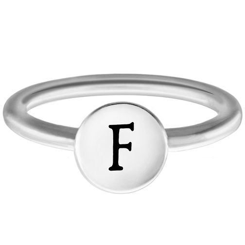 Chamilia F Alphabet Ring Medium - Product number 4947169