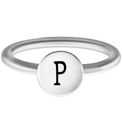 Chamilia P Alphabet Ring Small - Product number 4948866