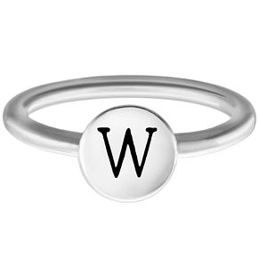 Chamilia W Alphabet Ring Large - Product number 4949552