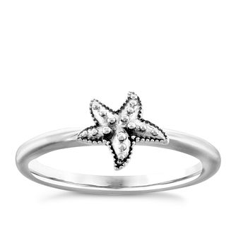 Chamilia Sterling Silver Starfish Ring Small - Product number 4949803