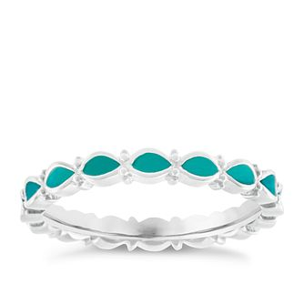 Chamilia Endless Teal Ring Large - Product number 4949935