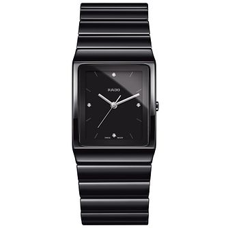 Rado Ceramica Diamonds Unisex Ceramic Bracelet Watch - Product number 4953509