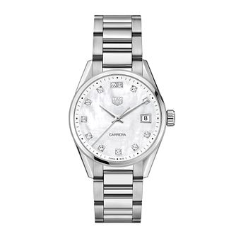 TAG Heuer Carrera Ladies' Stainless Steel Bracelet Watch - Product number 4953541