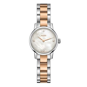 Rado Coupole Classic Diamond Ladies' Two Tone Bracelet Watch - Product number 4953568