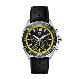 TAG Heuer Formula 1 Men's Black Rubber Strap Watch - Product number 4956486