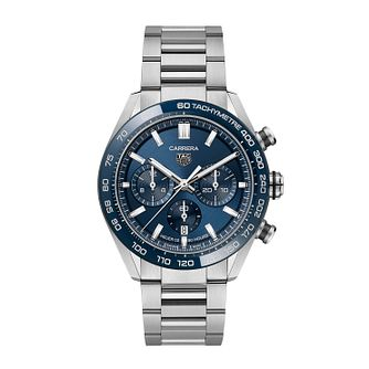 TAG Heuer Carrera Men's Stainless Steel Bracelet Watch - Product number 4956524