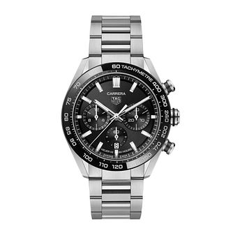 TAG Heuer Carrera Men's Stainless Steel Bracelet Watch - Product number 4957105
