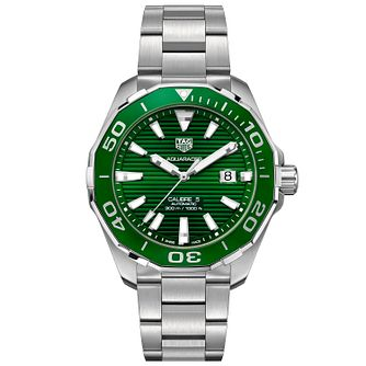 TAG Heuer Aquaracer Men's Stainless Steel Bracelet Watch - Product number 4958292