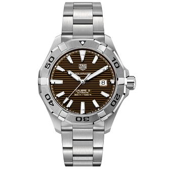 TAG Heuer Aquaracer Men's Stainless Steel Bracelet Watch - Product number 4958373