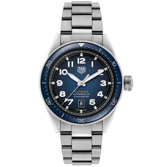 TAG Heuer Autavia Men's Stainless Steel Bracelet Watch - Product number 4959426