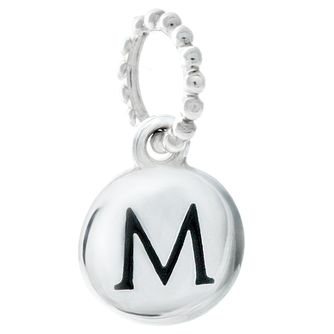 Chamilia Sterling Silver Alphabet Disc Charm M - Product number 4960718