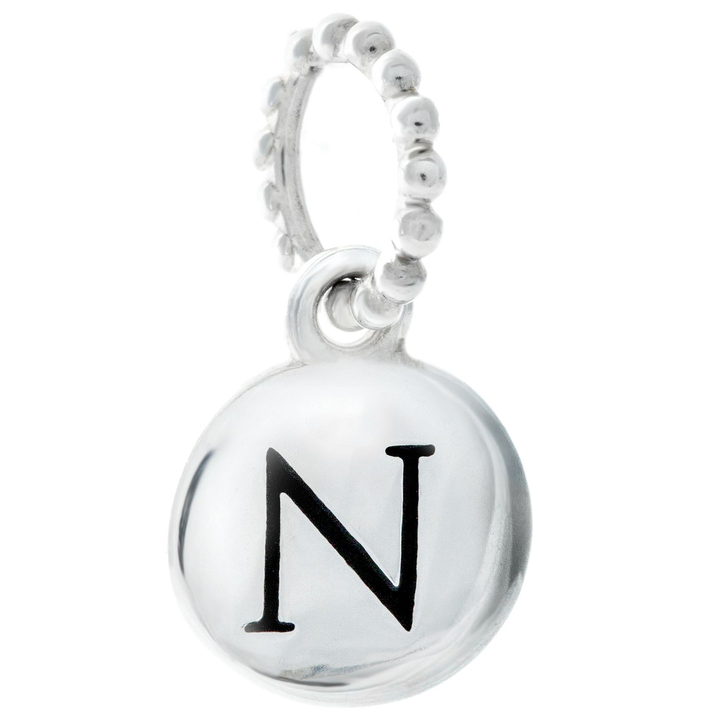 Chamilia Sterling Silver Alphabet Disc Charm N - Product number 4960726