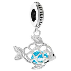 Chamilia Sterling Silver Swarovski Crystal Fresh Catch Bead - Product number 4961080
