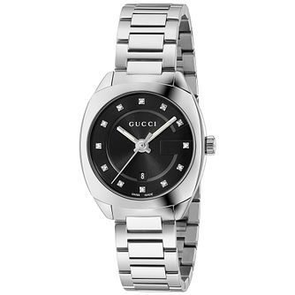 Gucci GG2570 Diamond Stainless Steel Bracelet Watch - Product number 4963431