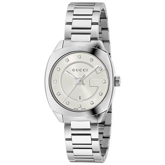 Gucci GG2570 Diamond Stainless Steel Bracelet Watch - Product number 4963458