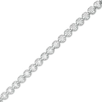 Marilyn Monroe Collection White Gold 1.95ct Diamond Bracelet - Product number 4963563