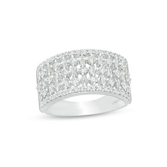 Marilyn Monroe Collection White Gold 0.95ct Diamond Ring - Product number 4963776