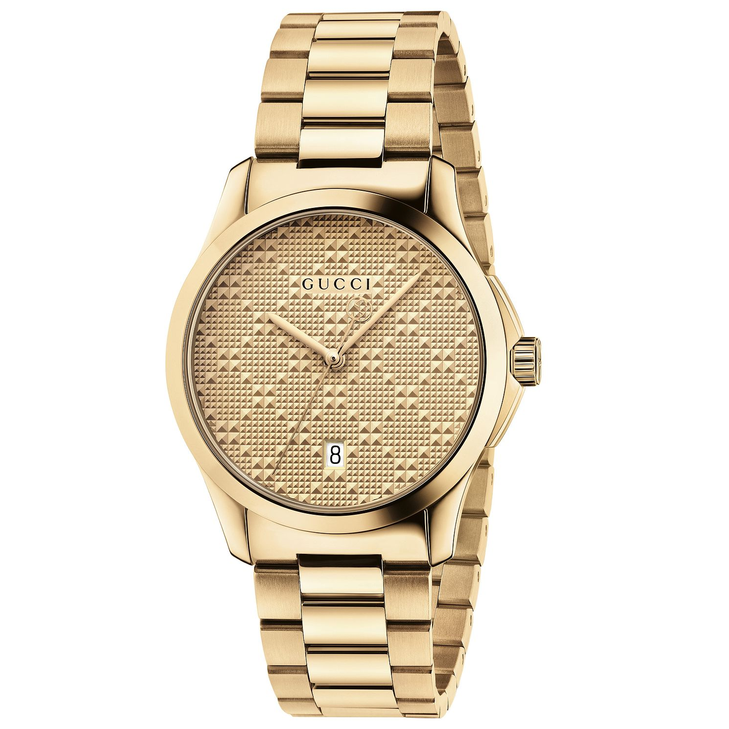 Gucci G-Timeless Yellow Gold Plated Bracelet Watch - Product number 4963997