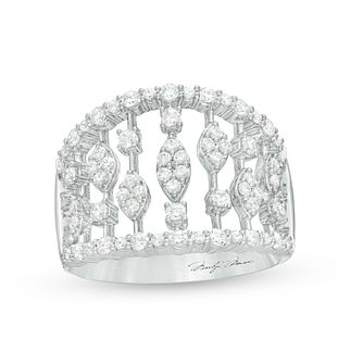 Marilyn Monroe Collection White Gold 0.95ct Diamond Ring - Product number 4966805