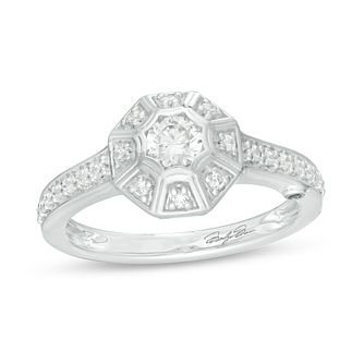 Marilyn Monroe Collection White Gold 0.45ct Diamond Ring - Product number 4966996