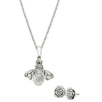 Chamilia Queen Bee Garden Necklace & Earrings Set - Product number 4969553