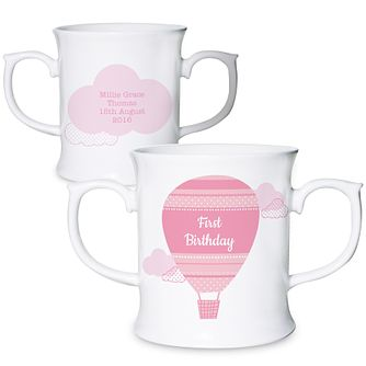 Personalised Up & Away Girls Loving Mug - Product number 4969901