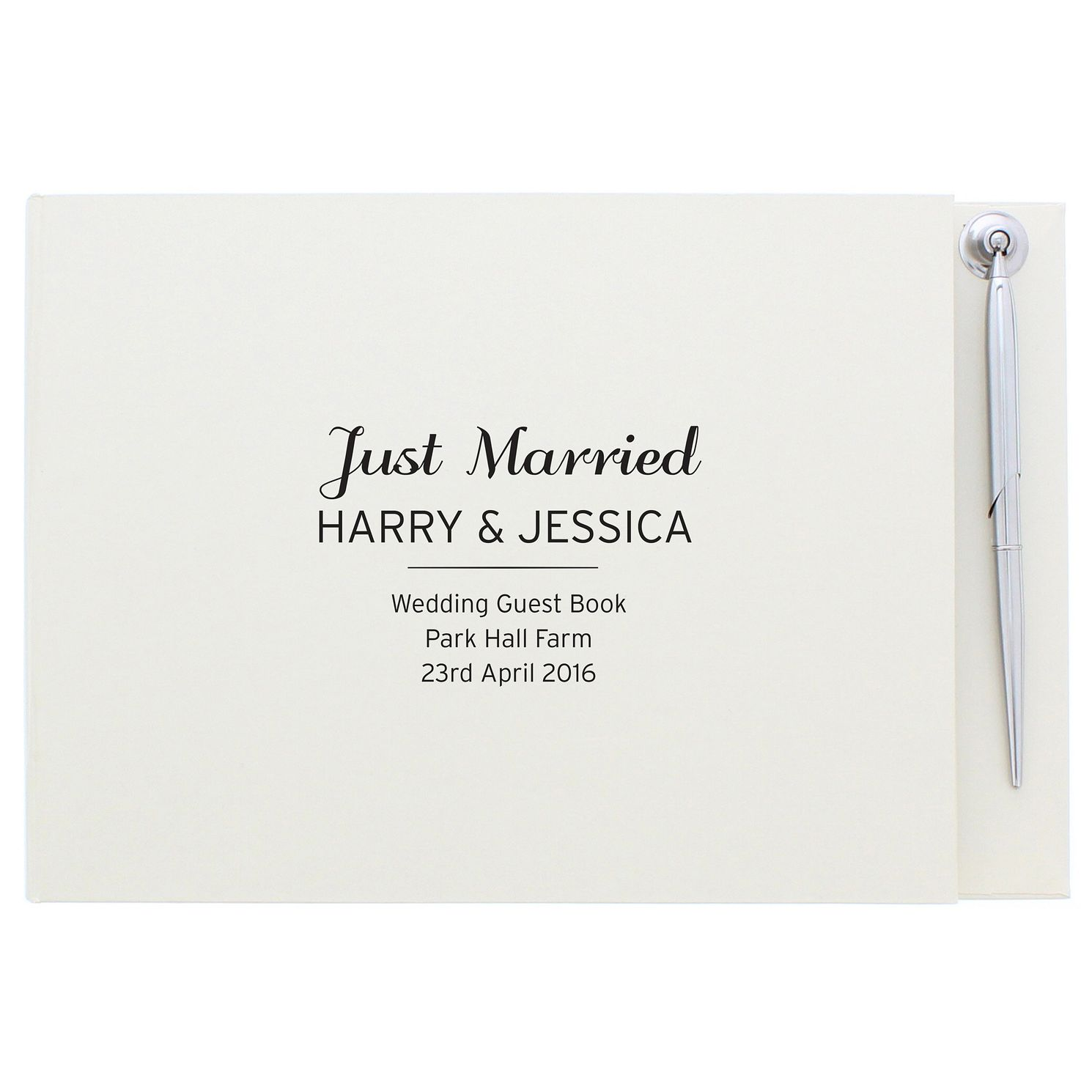 Personalised Classic Guest Book and Pen Gift Set - Product number 4970543