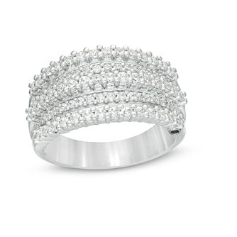 Marilyn Monroe Collection White Gold 0.95ct Diamond Ring - Product number 4971558