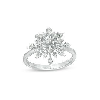 Marilyn Monroe Collection White Gold 0.45ct Diamond Ring - Product number 4974476