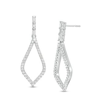 Marilyn Monroe Collection White Gold 2/5ct Diamond Earrings - Product number 4974662