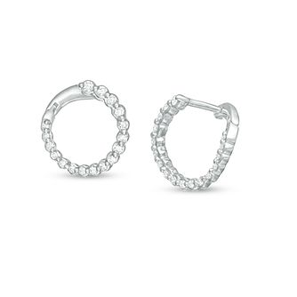 Marilyn Monroe Collection White Gold 1/4ct Diamond Earrings - Product number 4974670