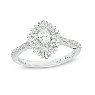 Marilyn Monroe Collection White Gold 0.60ct Diamond Ring - Product number 4975634