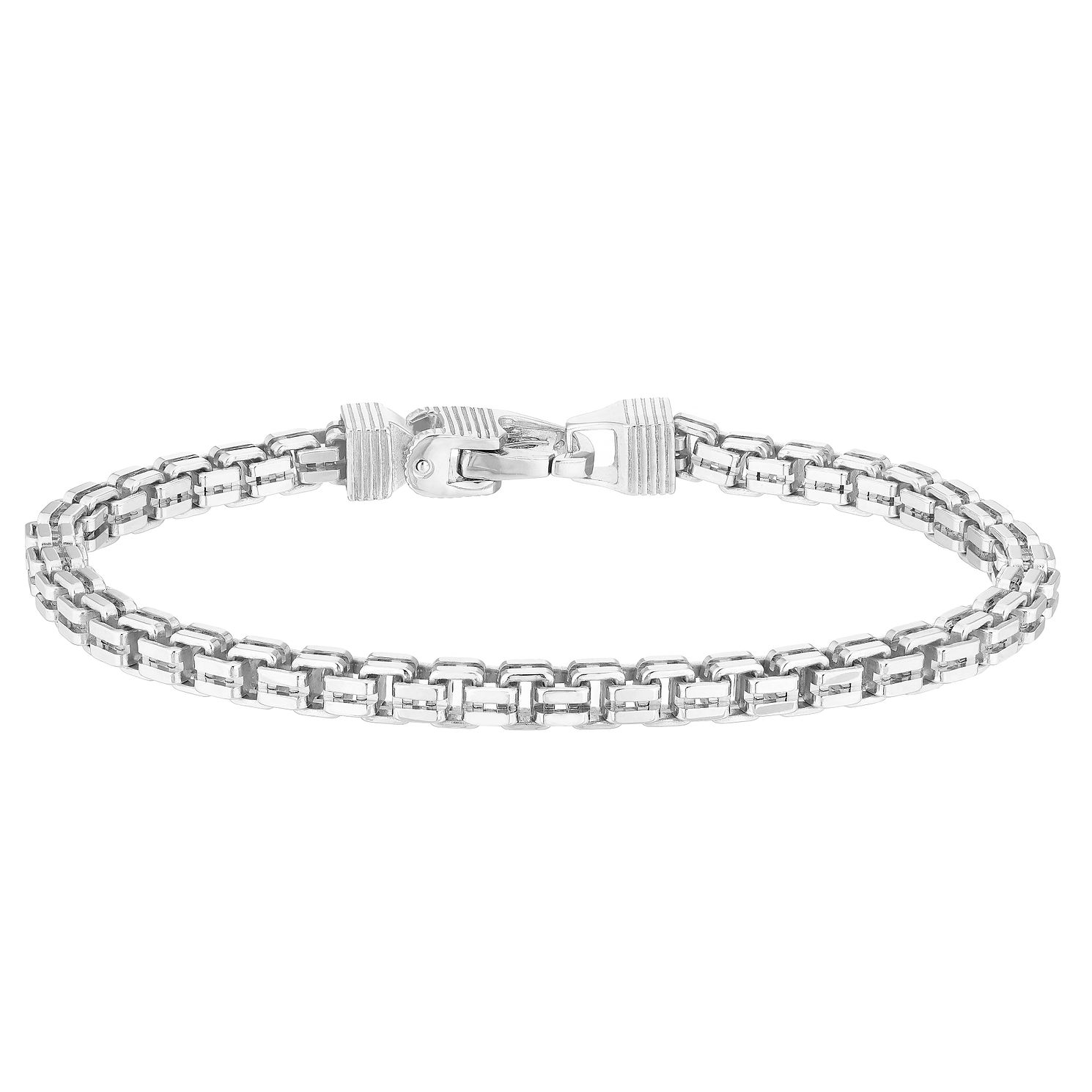 Esquire Sterling Silver Box Bracelet - Product number 4976398