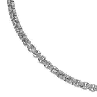 Esquire Stainless Steel Box Chain Necklace - Product number 4977440