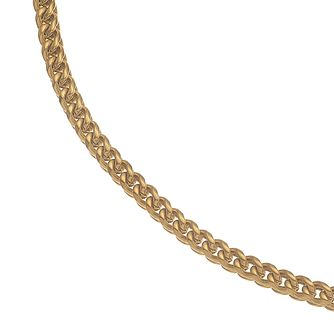 Esquire Gold Tone IP Stainless Steel Foxtail Necklace - Product number 4977475